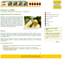 Screenshot from the Organic Materials in Electronics Consortium website.